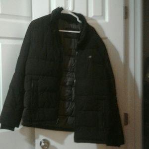Calvin Klein Black Coat